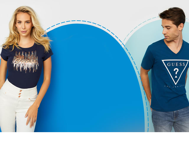 shop logo tees for women and men