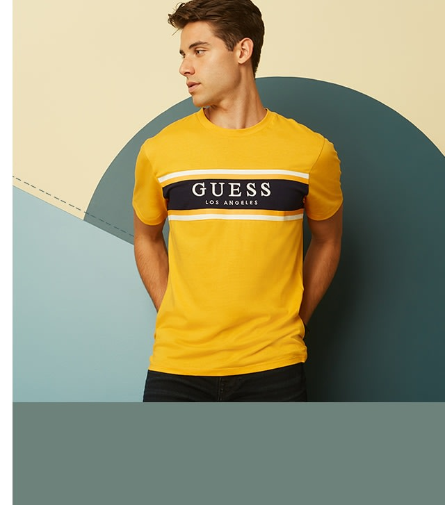 shop logo tees for men
