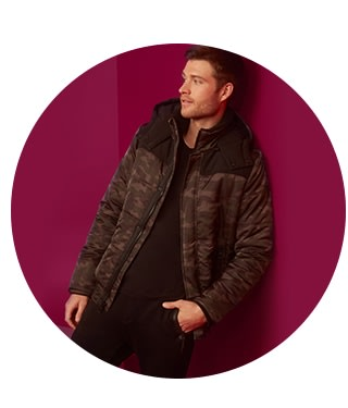 shop jackets and coats for men on sale