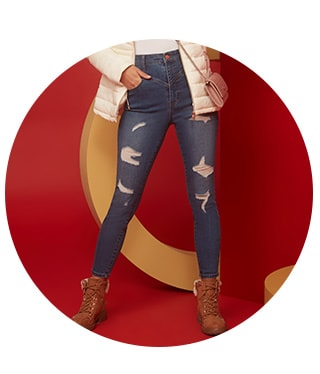 shop denim jeans on sale for women