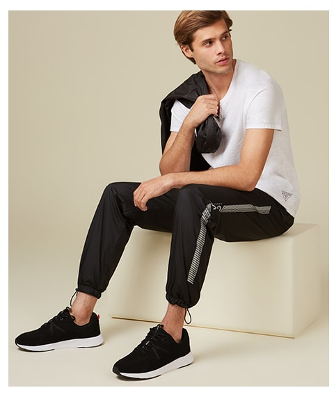 shop active and loungewear for men