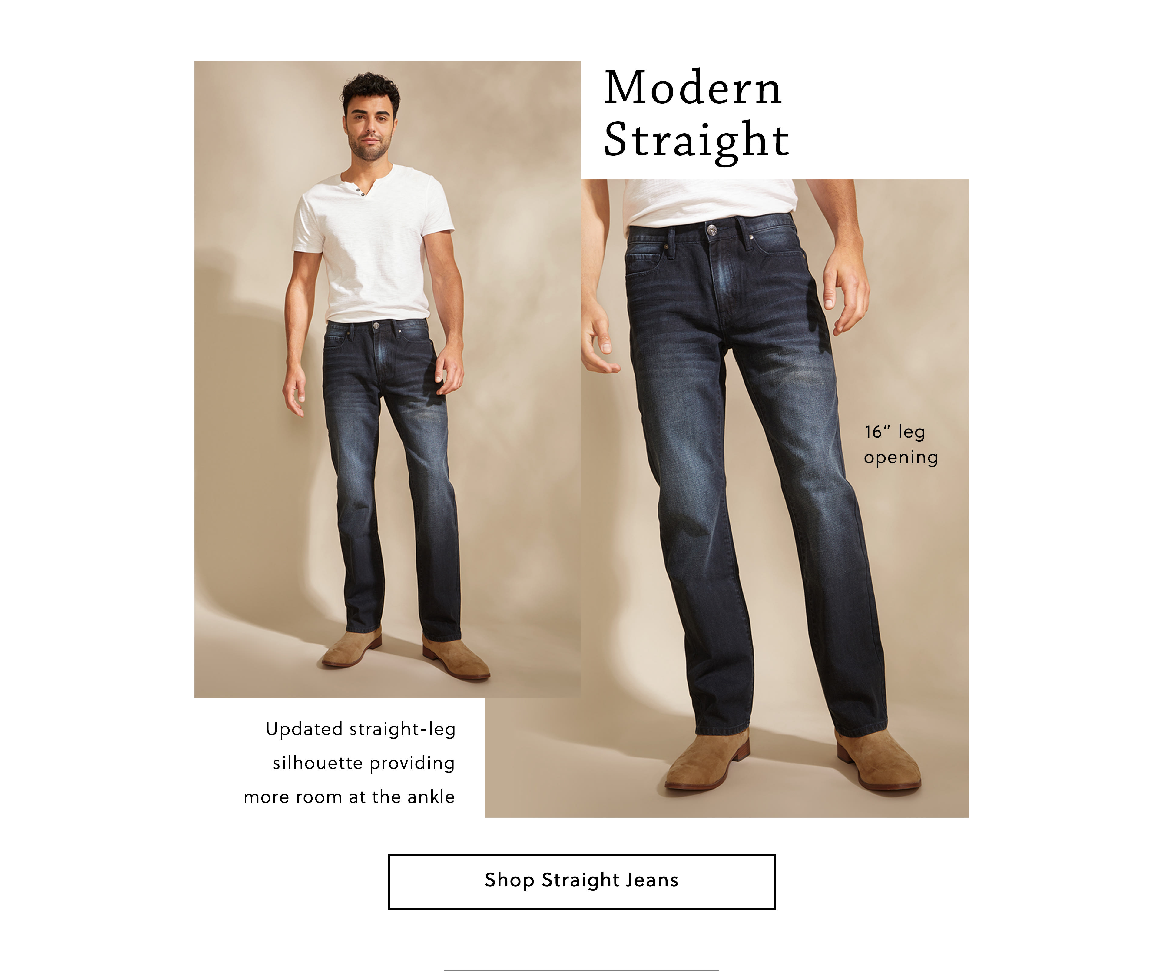 Modern Straight