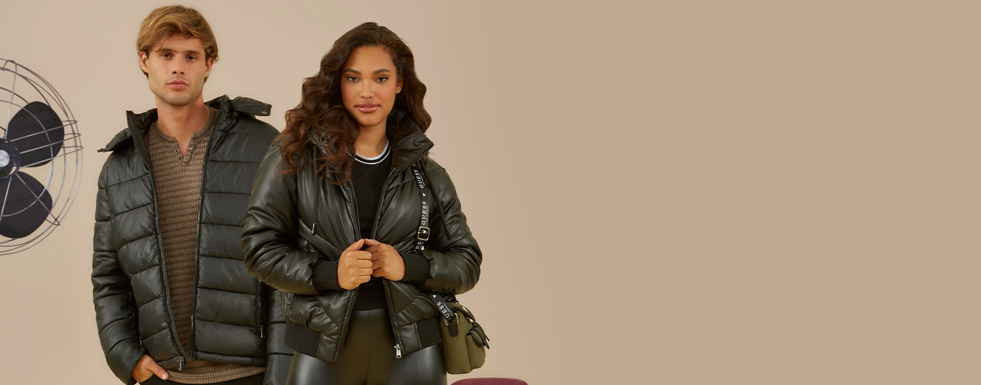 shop jackets and coats for women and men and handbags