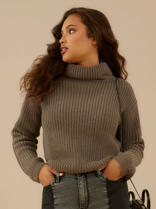 shop knits and sweaters for women