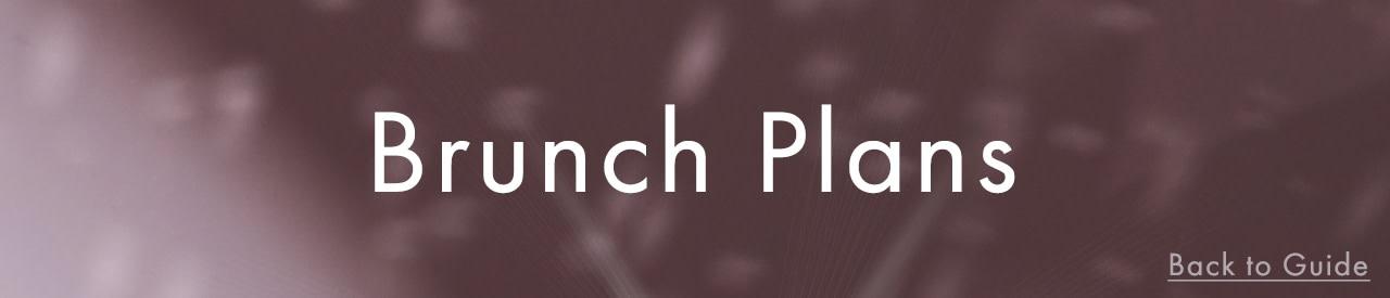 Brunch Dates