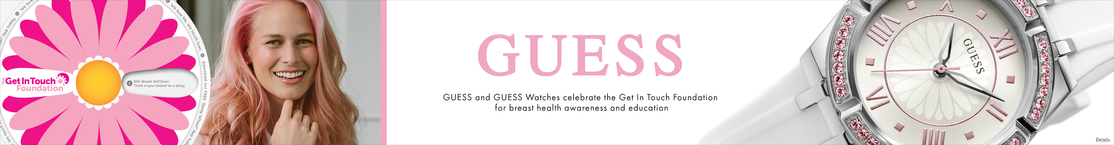Watches to support the Get in Touch Foundation