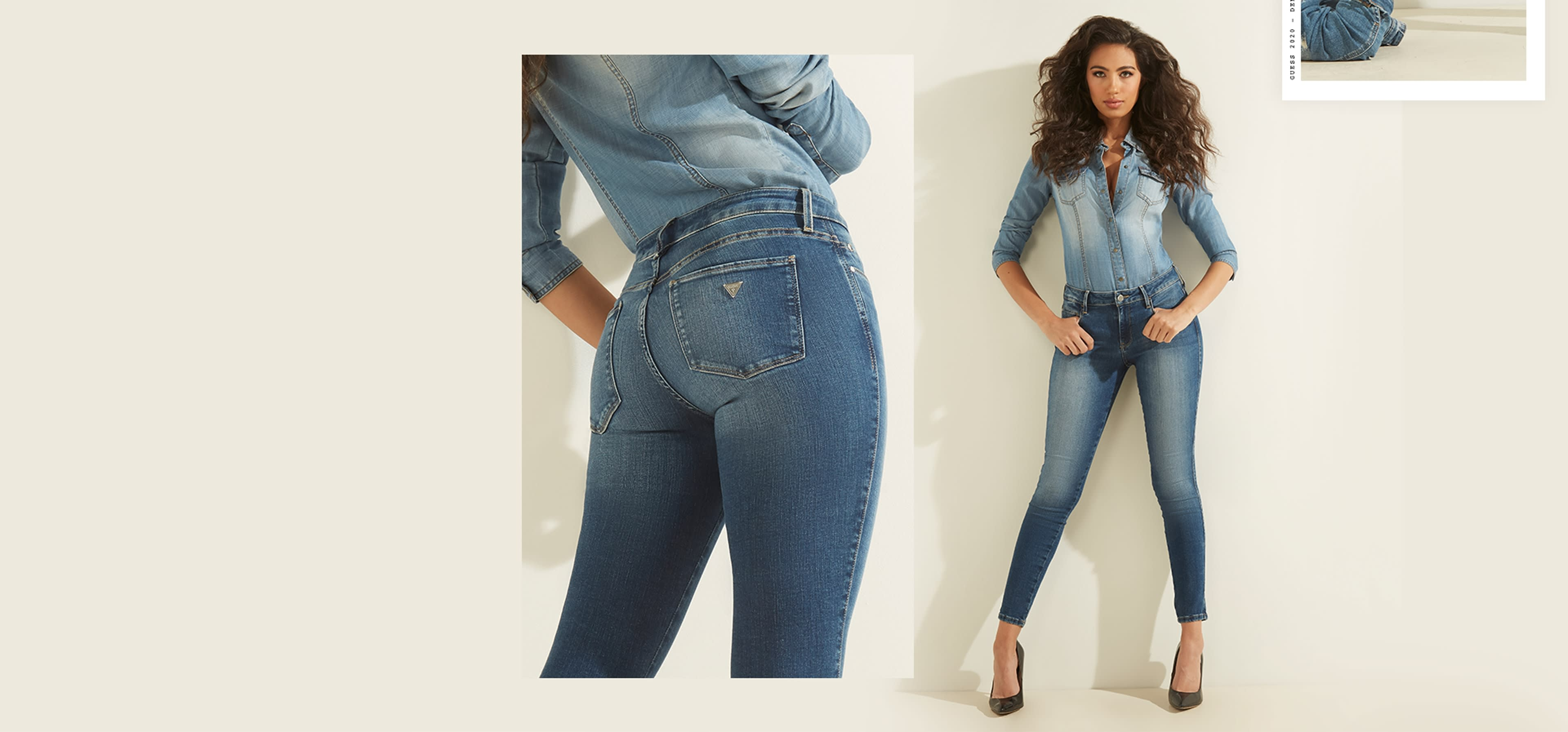 Sexy curve skinny jeans for women