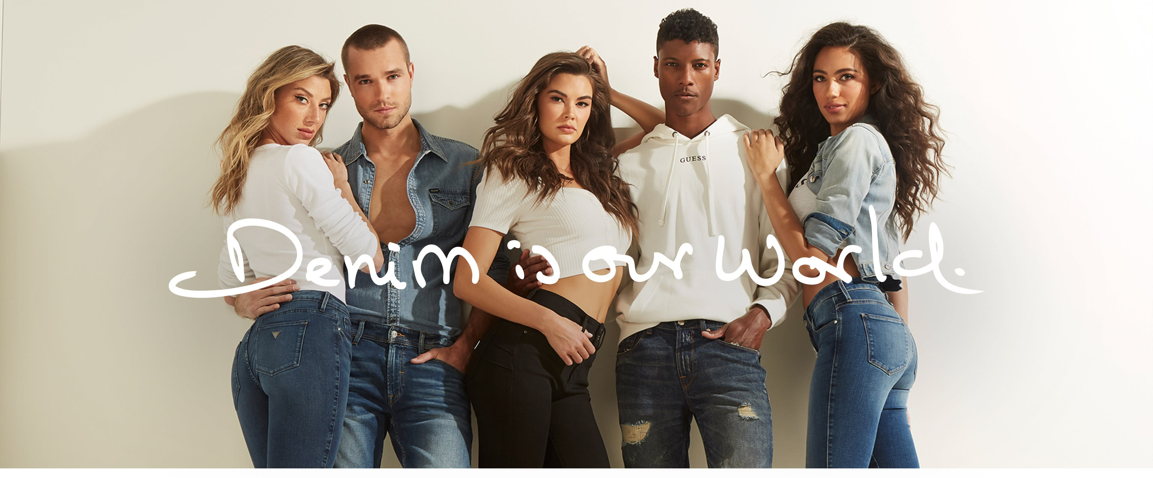 Denim for women and men
