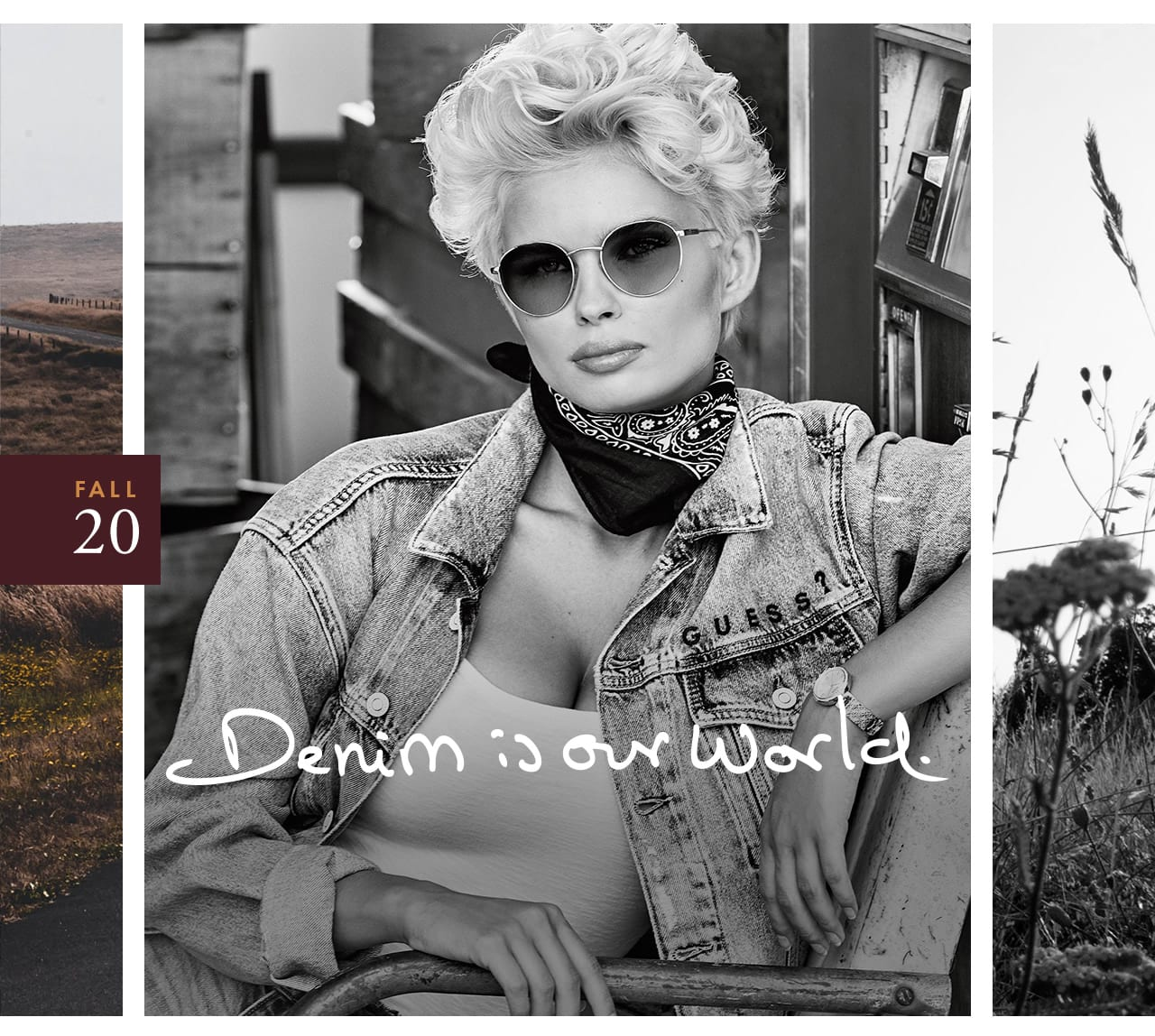 Iconic denim for women and men