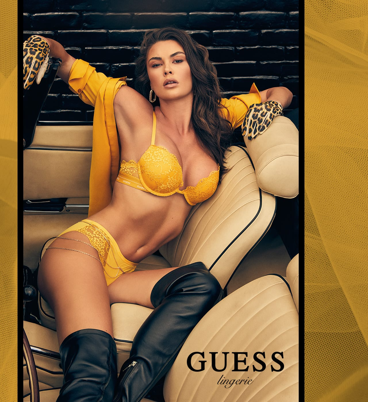 GUESS Lingerie lookbook 1
