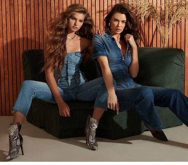 Denim styles for women and men