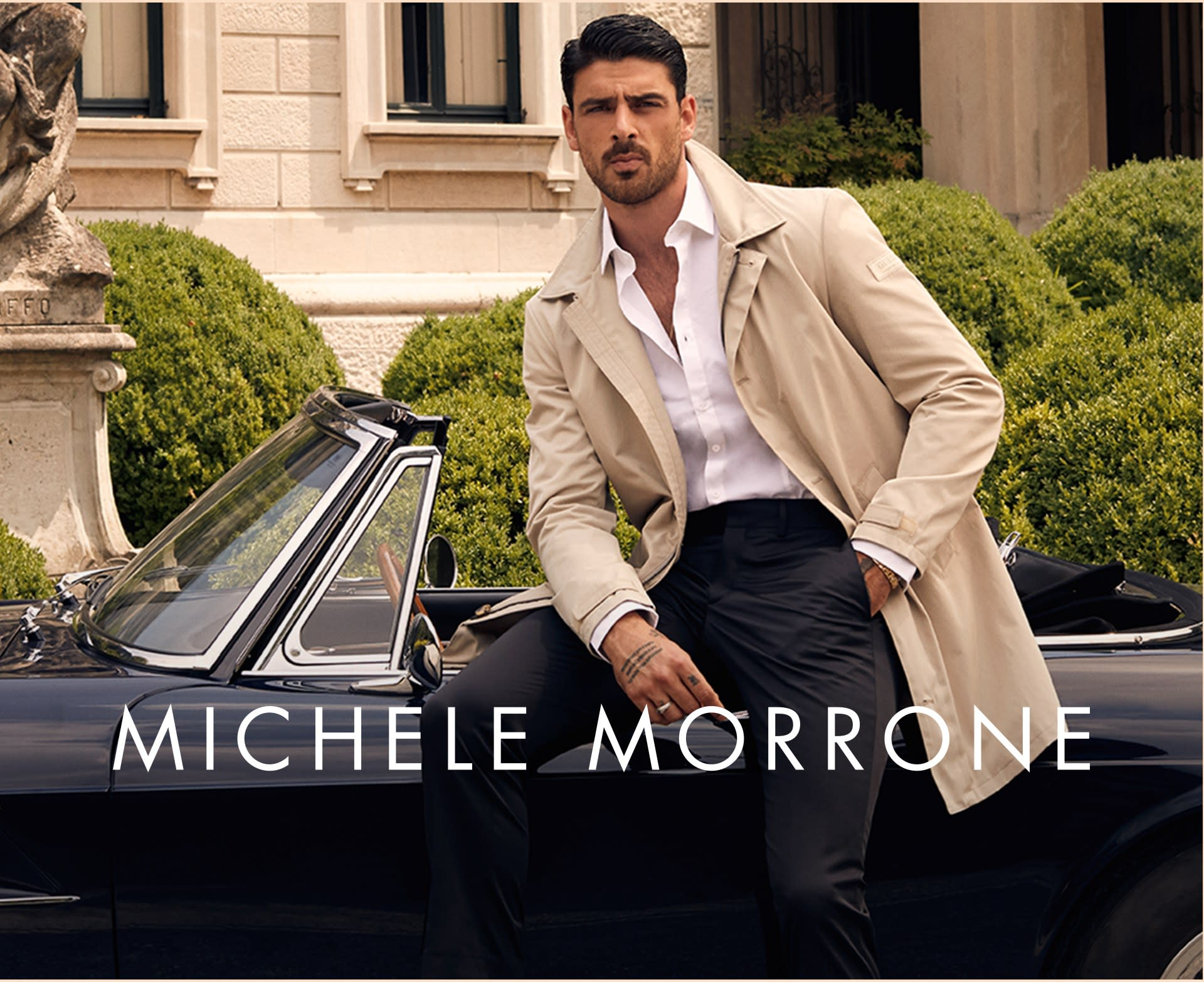 Michele Morrone for men
