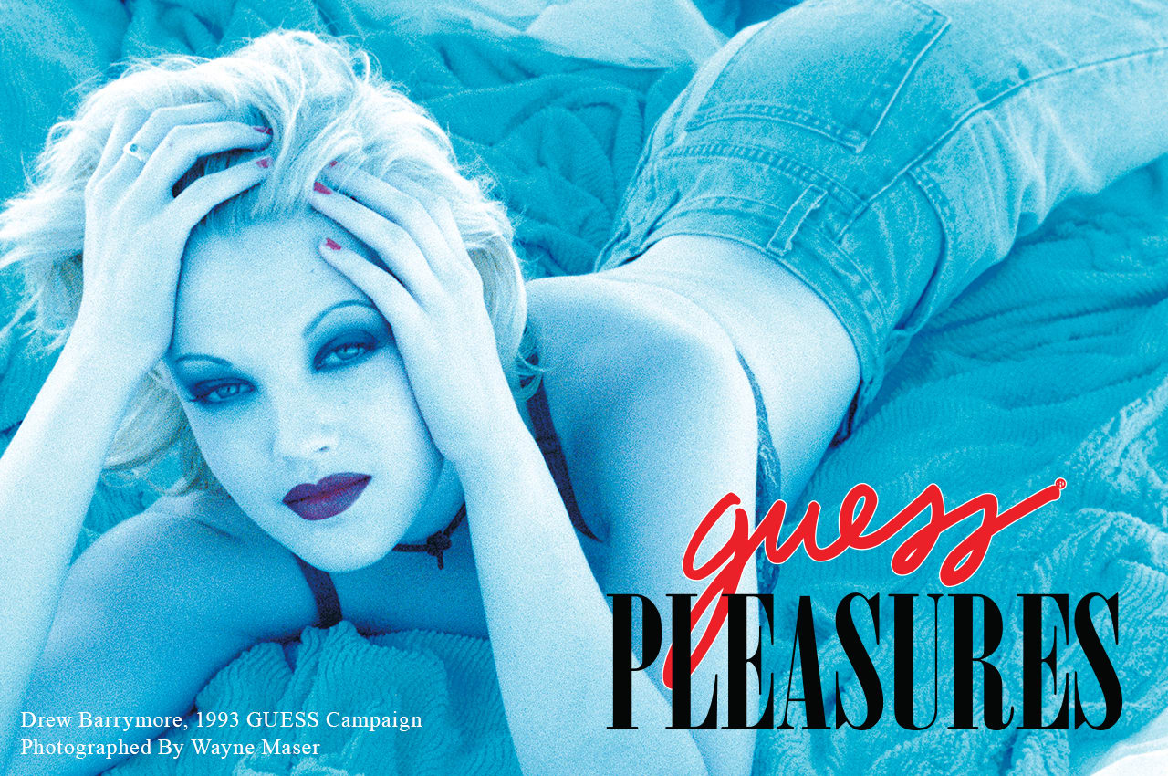 GUESS Pleasures lookbook 1