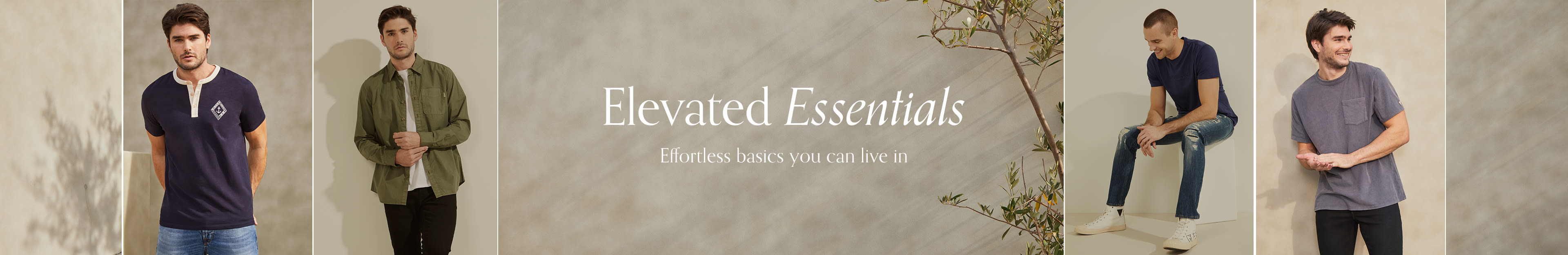 Elevated Essentials: Effortless basics you can live in