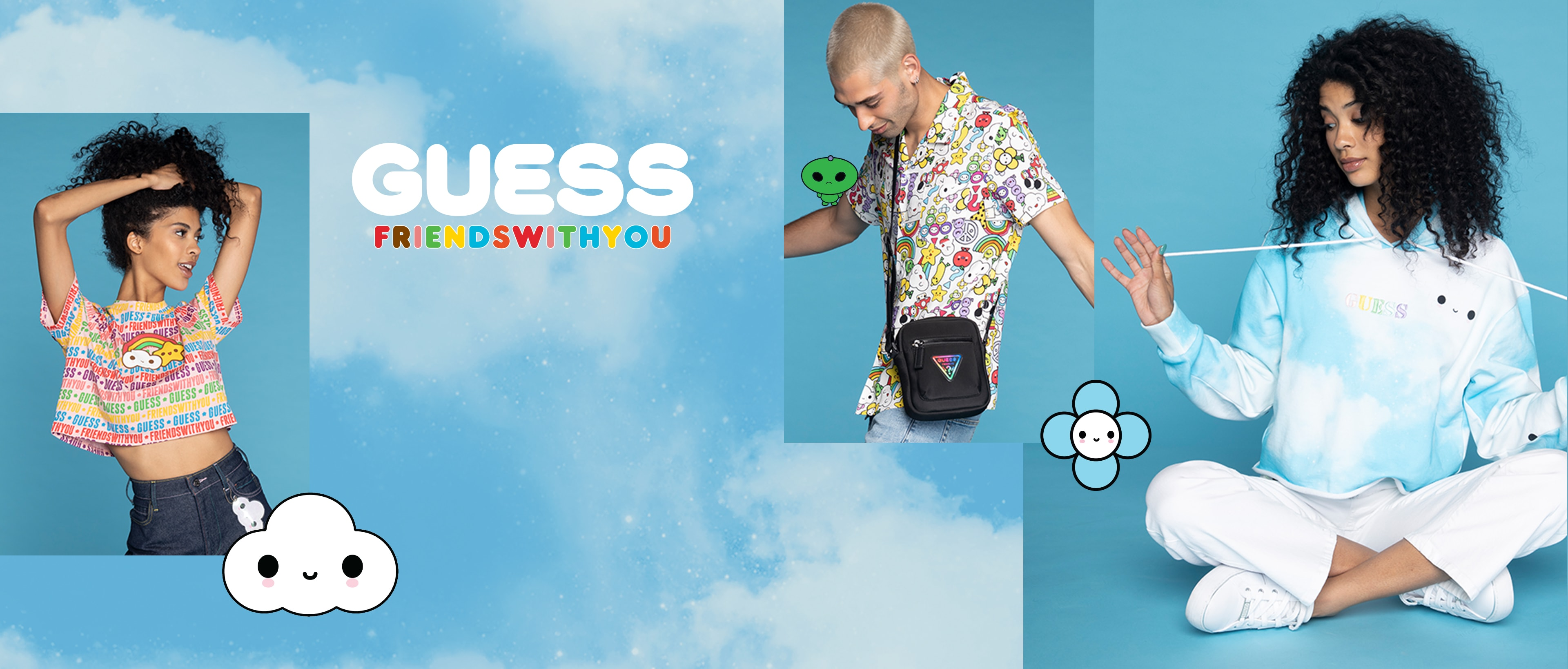 GUESS x FriendsWithYou World Happiness Tour