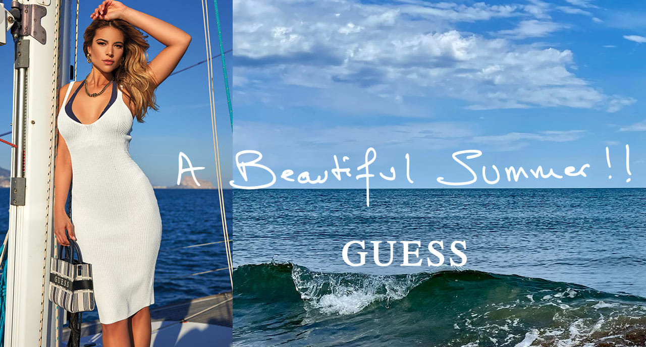GUESS Summer Campaign lookbook 1