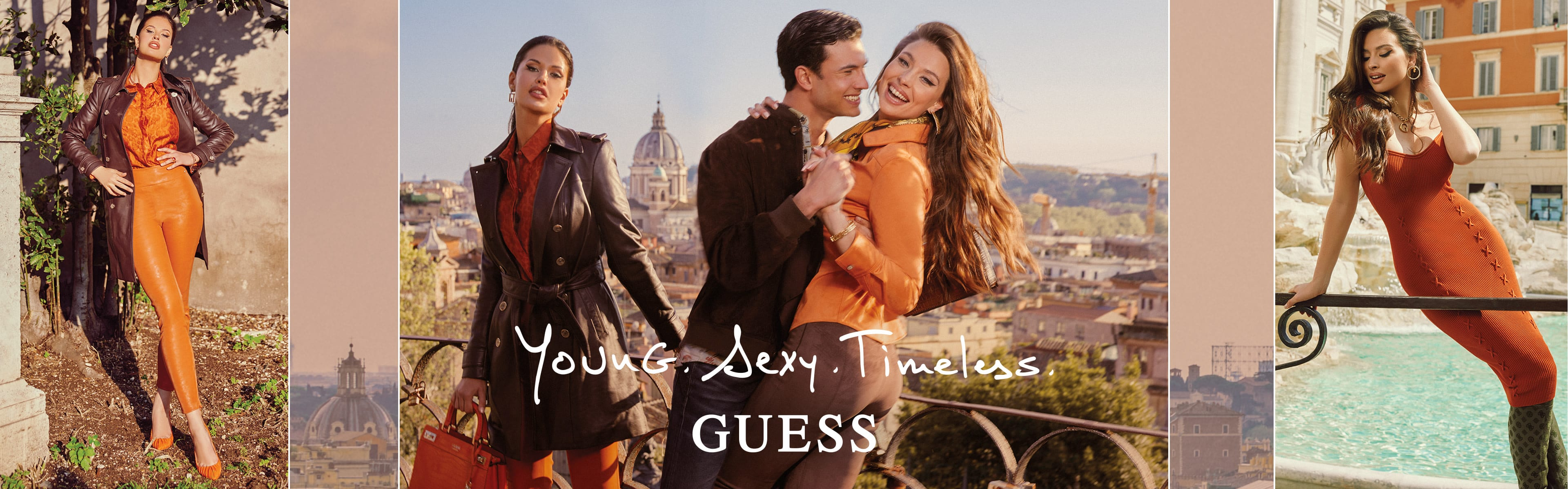GUESS Fall Campaign lookbook 1