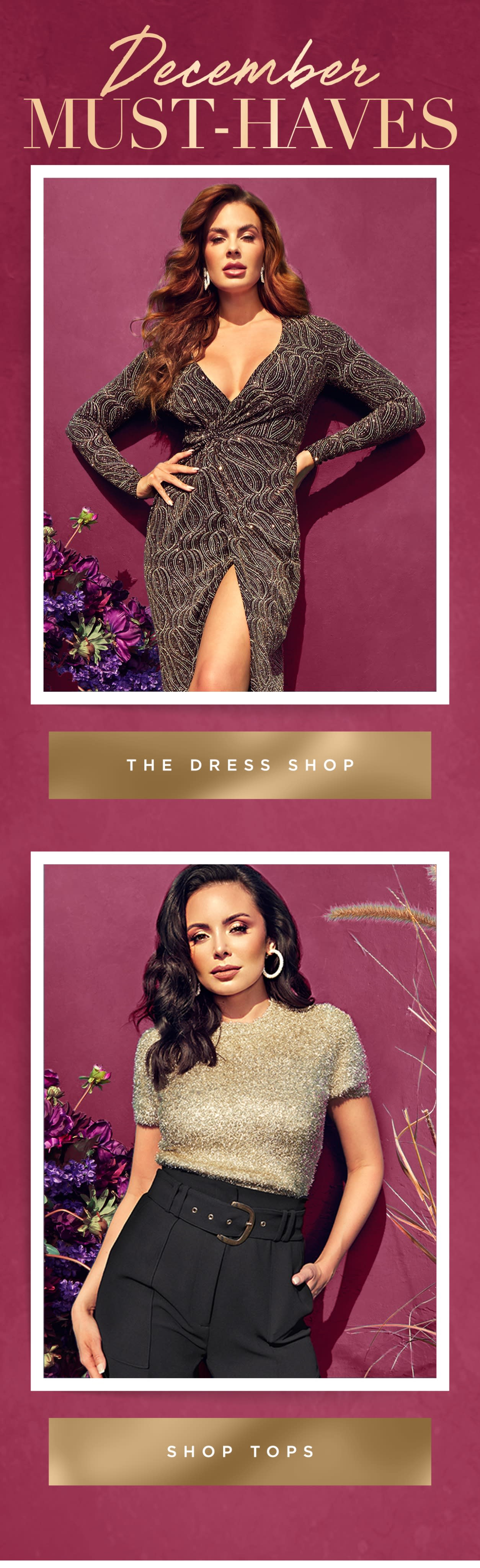 The dress shop