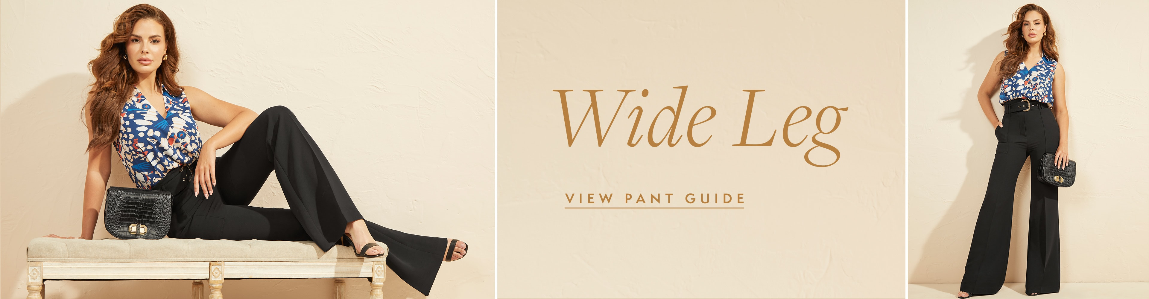 Wide Leg View Pant Guide