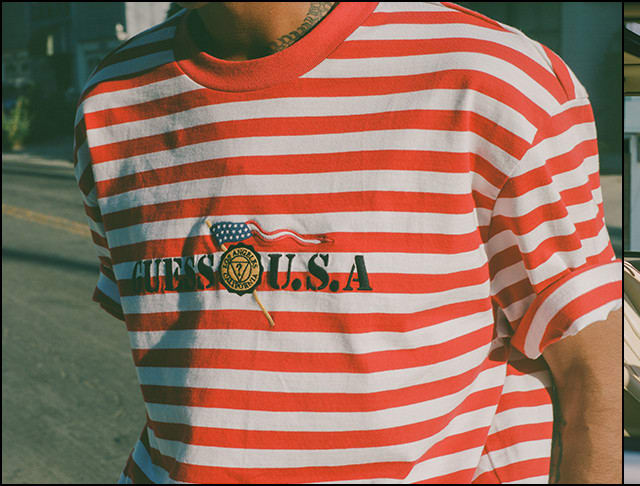 GUESS? USA Flag Tee / ARCHIVE DROP 009 - Slide 01