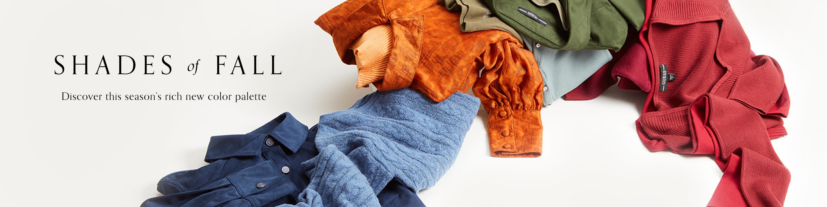 Shades of Fall: Discover this season's rich new color palette