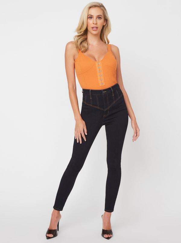 Joanne Super-High Rise Skinny Jeans