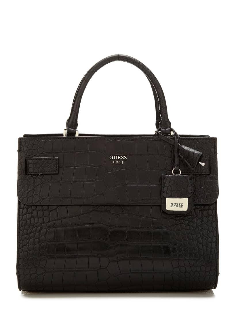 Cate croc Handbag | GUESS.eu